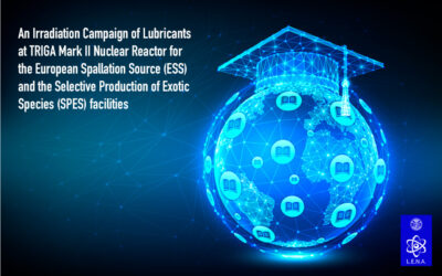 An Irradiation Campaign of Lubricants at TRIGA Mark II Nuclear Reactor for the European Spallation Source (ESS) and the Selective Production of Exotic Species (SPES) facilities