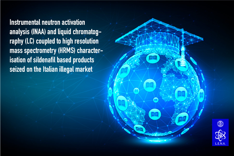 Instrumental neutron activation analysis (INAA) and liquid chromatography (LC) coupled to high resolution mass spectrometry (HRMS) characterisation of sildenafil based products seized on the Italian illegal market