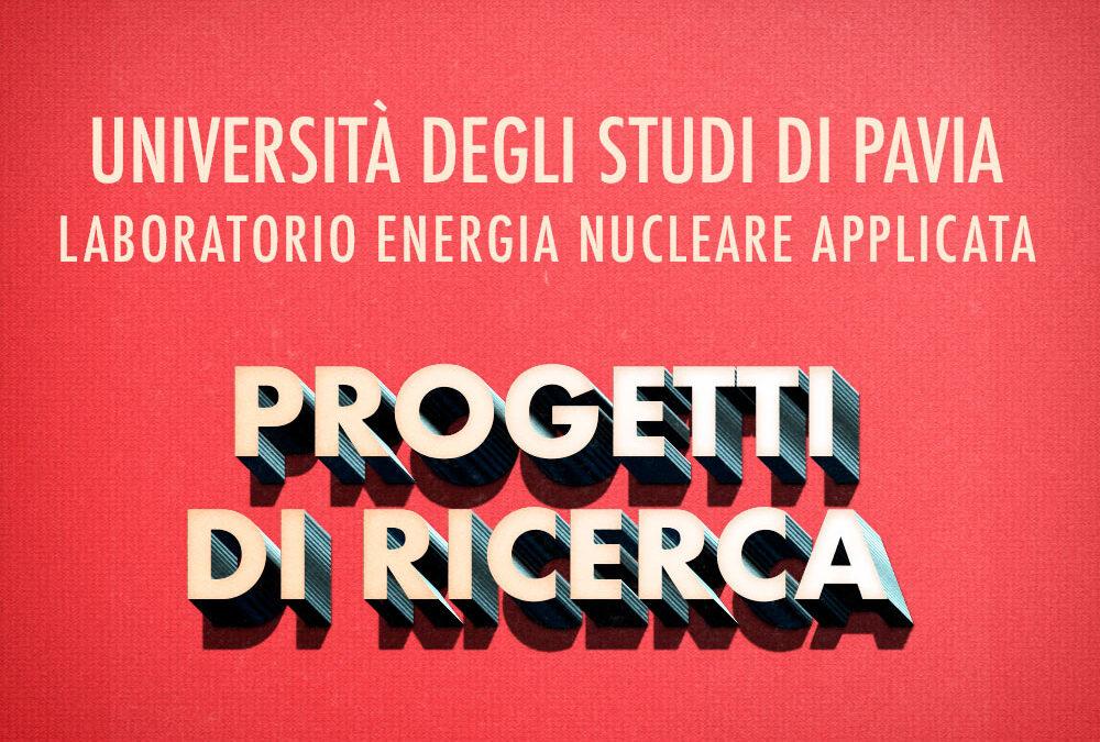 Collaborazione con il Progetto Strategico INFN ENERGIA